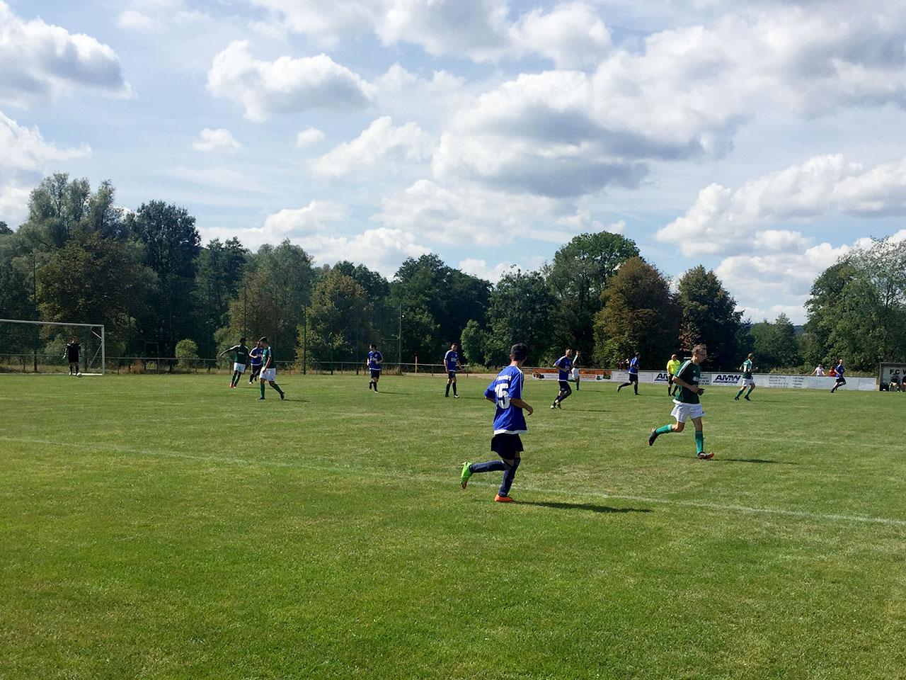 Die Sportfreunde gewinnen mit 0:6 gegen den FC Werdorf II